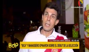 ¿Cómo vieron Manassero y Bica el 2-2 ante Paraguay?
