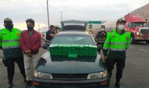 Arequipa: intervienen vehículo que transportaba más de 50 kilos de cocaína a Bolivia