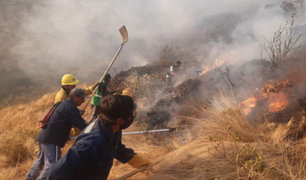 Cusco: aeronaves especiales ayudarán a controlar incendio forestal en Sacsayhuamán