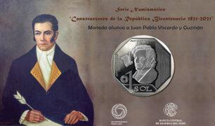 BCR puso en circulación nueva serie numismática para conmemorar Bicentenario del Perú