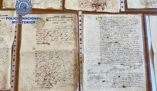 Cancillería: manuscritos originales del Virreinato del Perú fueron recuperados en España