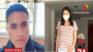 Alférez de la PNP es denunciado por su pareja embarazada de maltrato