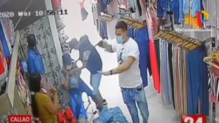 Callao: Por segunda vez en un mes entraron a robar armados en una boutique