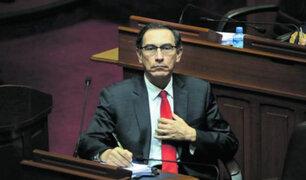 Fiscalía investigará a presidente Vizcarra por el caso Swing cuando culmine su mandato