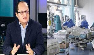 Víctor Quijada: Hay aproximadamente ochenta mil fallecidos por Covid-19 en todo el país