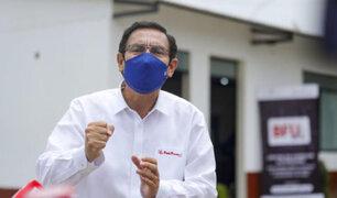 """Presidente Vizcarra dice que caso Swing """"No ha sido más que una pretendida cortina de humo"""""""