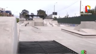 Chorrillos: Jóvenes piden aperturar el Skatepark para practicar su deporte