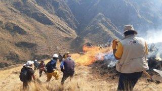 ¡Buenas noticias! Labores conjuntas extinguen incendio forestal en Cusco
