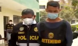 """Los Olivos: capturan a la peligrosa banda de """"Los sanguinarios Aragüeños"""""""