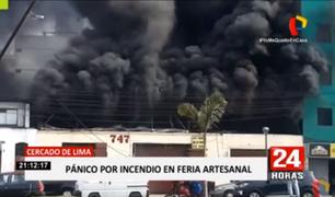 Incendio en feria artesanal: vecinos denunciaron que comerciantes atendían clandestinamente
