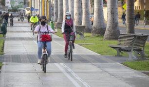 Hoy cierran avenida Arequipa para reactivar prácticas deportivas y de recreación