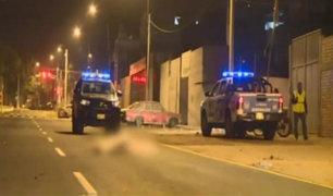 Camión fuera de control atropella y mata a mujer en La Molina