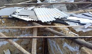Áncash: techos de varias viviendas resultaron dañados por fuertes  vientos