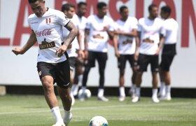 Selección Peruana intensificó sus entrenamientos con miras al partido con Brasil