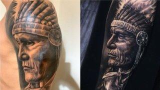 Gianluca Lapadula es criticado por su tatuaje dedicado al Perú