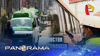 La radiografía del caótico transporte informal en plena pandemia