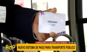 Habilitan nuevo sistema de pago electrónico en el transporte urbano