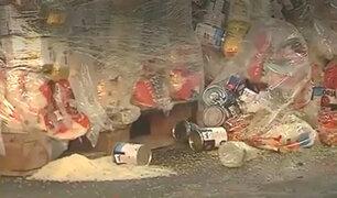 Pese a robo en almacén: Indeci continuará enviando víveres a poblaciones vulnerables