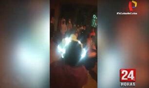 San Miguel: vecinos agreden a sereno que habría golpeado a su pareja