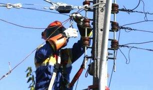 Nuevos cortes de luz desde este martes hasta el domingo 18 en Lima y Callao