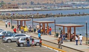 Alcalde Muñoz informó que está a la espera del presupuesto para el control de las playas