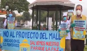 Surco: vecinos denuncian que parque sería destruido para construir centro comercial