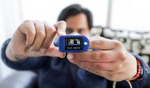 Covid-19: Tasa de mortalidad disminuiría con adecuado uso del pulsioxímetro