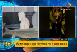 Surquillo: jóvenes fueron detenidos por celebrar partido de fútbol