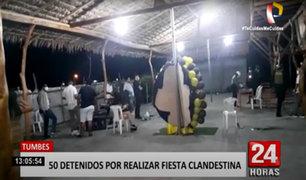 50 personas celebraban en casa de campo durante toque de queda