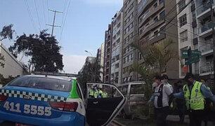 Surco: capturan a sujeto que se arrojó de puente tras robar celular a una menor de edad