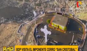 Cerro San Cristóbal: el símbolo de Lima pasa así los días de pandemia