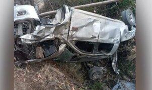 Tragedia en Ayacucho: 3 policías muertos deja despiste de camioneta