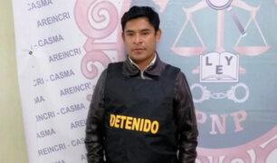 Áncash: alcalde de Quillo es intervenido por ingerir licor en pleno toque de queda