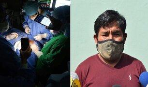 Arequipa: falleció niño operado del cerebro con linterna de celular en Hospital Goyeneche