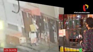 Los Olivos: vecinos denuncian robos de falsos repartidores de comida