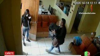 Cañete: pareja de esposos roban más de S/.4 mil en efectivo y equipos costosos de una casa
