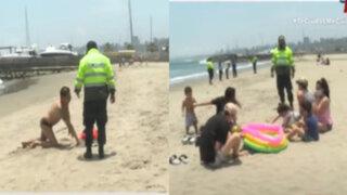 Costa Verde: Policía desalojó a decenas de bañistas de las playas, pero hubo enojos y reclamos
