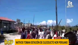 Oleoducto Nor Peruano: nativos advierten que mantendrán tomada Estación 5 hasta ser escuchados