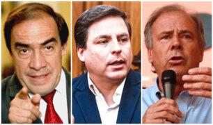 Lescano, Barnechea y Del Águila disputarán en internas la representación de AP