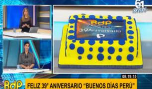 Panamericana y Buenos Días Perú celebran su aniversario