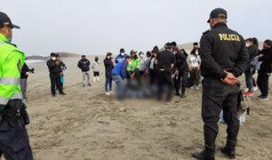 Un muerto y dos desaparecidos deja naufragio de embarcación pesquera en Huarmey