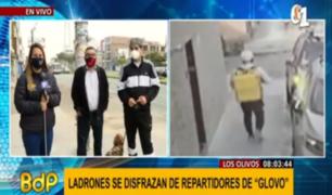 Los Olivos: vecinos aterrados por delincuentes que se disfrazan de repartidores