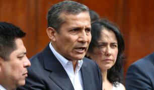 PJ culminó etapa de control de acusación contra Humala y Heredia