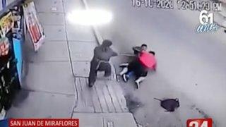 SJM: hombre fue asesinado de un disparo cuando intentaba defender su negocio