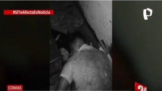 Comas: delincuente cae de tercer por intento de robo a una casa