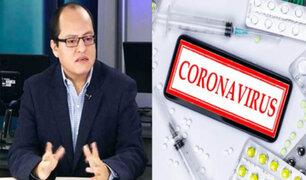 Víctor Quijada: Se deben investigar las compras de medicamentos contra el Covid-19