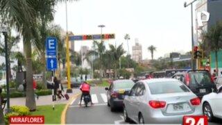 Miraflores fiscalizará electrónicamente el tránsito