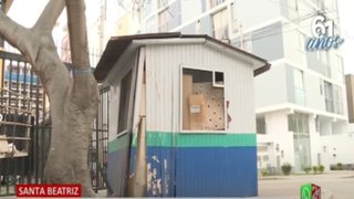 Santa Beatriz: Vecinos denuncian que caseta de serenazgo está abandonada desde hace 3 años