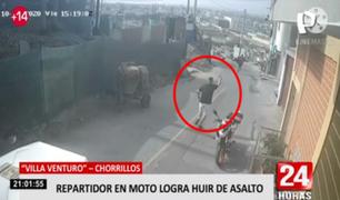 Chorrillos: vecinos denuncian constantes asaltos a mano armada