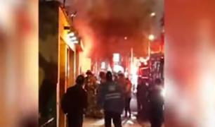 Miraflores: tras recibir amenazas bodega es atacada con bomba molotov